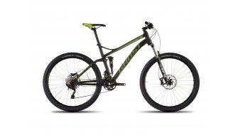 Ghost Kato FS 7 650B/27,5 MTB bike size M black/limegreen/white 2016
