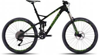 Ghost SLAMR X 8 LC 650B/27,5 MTB bici completa . black/green/darkgreen mod. 2016