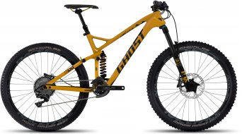 Ghost FRAMR 8 AL 650B/27.5 MTB bike cane yellow/black 2017