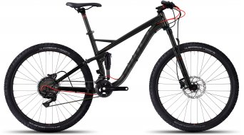 Ghost Kato FS 5 AL 650B/27.5 MTB bici completa . black/black/neon red mod. 2017