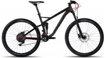 Ghost Kato FS 5 AL 650B/27.5 MTB bici completa negro/negro/color neón rojo Mod. 2017