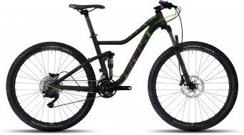 Ghost Lanao FS 3 AL 650B / 27.5 MTB Komplettrad Damen-Rad black/riot green/fuchsia pink Mod. 2017