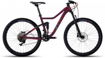 Ghost Lanao FS 5 AL 650B / 27.5 MTB Komplettrad Damen-Rad berry red/lake blue/riot red Mod. 2017