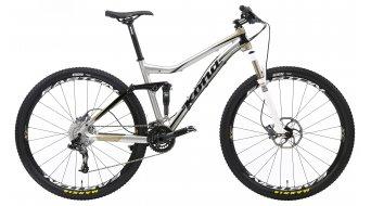 Kona Hei Hei 2-9 Deluxe bici twenty-niner (de 29 pulgadas) bici completa gris/negro Mod. 2013