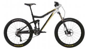 Kona Abra Cadabra bici completa tamaño 43,2cm (17) negro/blanco/amarillo Mod. 2013