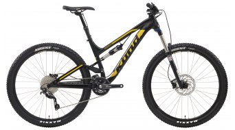 KONA Process 134 650B bike black- yellow 2014