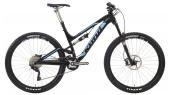 KONA Process 134 DL 650B bike size L black- blue 2014