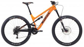 KONA 153 Process 650B bike matt flo orange 2015