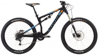 KONA Precept 150 650B bike black/blue/orange 2016