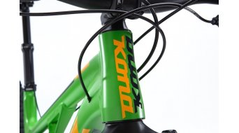Kona Process 134 650B bici completa tamaño SM verde/amarillo Mod. 2016