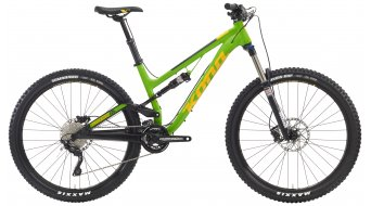 KONA Process 134 650B bike green/yellow 2016