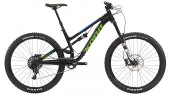 KONA Process 153 650B bike black/green/blue 2016