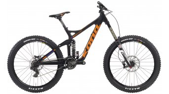 Kona Supreme Operator 26 Komplettbike carbon/black/team orange/purple Mod. 2016
