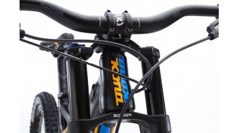 Kona Operator 26 bici completa tamaño S carbono/negro/amarillo/azul Mod. 2016
