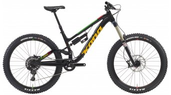 KONA Process 167 26 bici completa black/green/red/yellow . mod. 2016