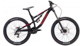 Kona Stinky 26 bici completa tamaño S negro/rojo/azul Mod. 2017