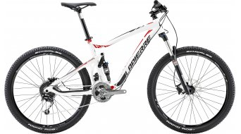 Lapierre X-Control 127 650B/27.5 MTB bike white/red/black matt 2015