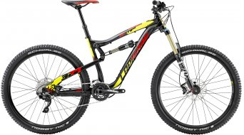 Lapierre Zesty AM 327 650B/27.5 MTB bike black/red/yellow matt 2015