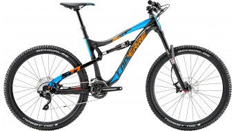 Lapierre Zesty AM 527 650B/27.5 MTB bike black/cyan blue/orange matt 2015