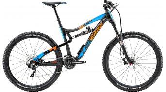 Lapierre Zesty AM 527 e:i shock 650B/27.5 MTB bike black/cyan blue/orange matt 2015