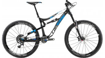 Lapierre Zesty AM 827 650B/27.5 MTB bike black/white/blue matt 2015