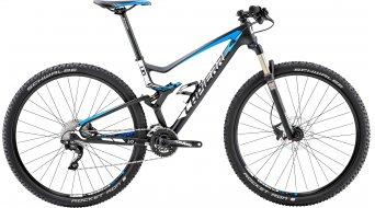 Lapierre XR 529 29 MTB bike carbon/cyan blue/white matt 2015