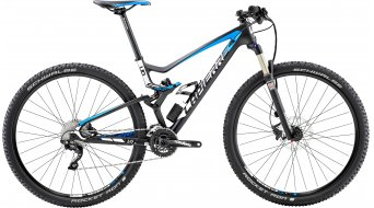 Lapierre XR 529 e:i shock 29 MTB bike carbon/cyan blue/white matt 2015
