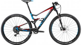 Lapierre XR 729 29 MTB bike carbon/red/cyan blue matt 2015