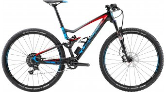 Lapierre XR 729 e:i shock 29 MTB bike carbon/red/cyan blue matt 2015