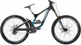 Lapierre DH Team 650B/27.5 MTB bike black/cyan blue/white matt 2015
