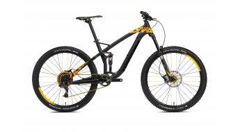 NS Bikes Snabb T2 650B/27.5 bike black/yellow 2016
