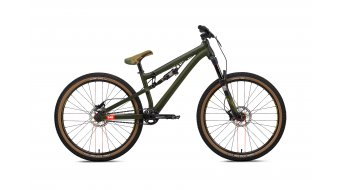 "NS Bikes Soda Slope 26"" vélo taille unique dark green Mod. 2016"