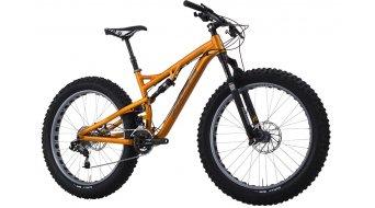 Salsa Bucksaw 2 Fatbike bici completa mis. XL oro rush