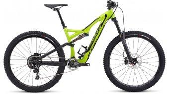Specialized Stumpjumper FSR Expert Carbon Evo 650B MTB Komplettbike hyper green/black Mod. 2015