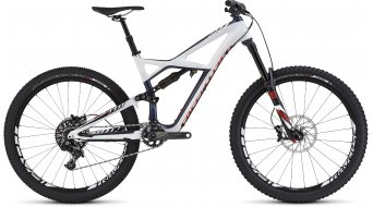 Specialized Enduro FSR Expert Carbon 650B / 27.5 MTB Komplettbike gloss navy/white/rocket red Mod. 2016 - TESTBIKE