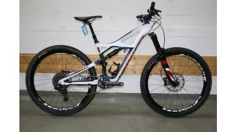 Specialized Enduro FSR Expert Carbon 650B / 27.5 MTB Komplettbike Gr. S gloss navy/white/rocket red Mod. 2016 - TESTBIKE