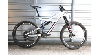 Specialized Enduro FSR Expert Carbon 650B / 27.5 MTB Komplettbike Gr. L gloss navy/white/rocket red Mod. 2016 - TESTBIKE
