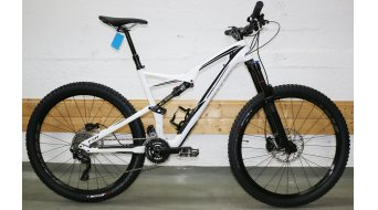 Specialized Stumpjumper FSR Comp Carbon 650B / 27.5 MTB Komplettbike gloss white/black Mod. 2016 - TESTBIKE