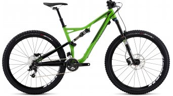 Specialized Stumpjumper FSR Comp 650B / 27.5 MTB Komplettbike Gr. S gloss moto green/black clean Mod. 2016