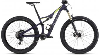 Specialized Rhyme FSR Comp Carbon 6Fattie 650B+ / 27.5+ MTB Komplettbike Damen-Rad satin deep indigo/hyper green/cool grey Mod. 2016