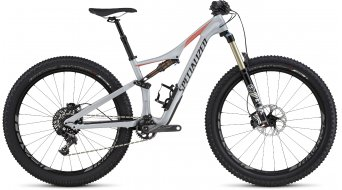Specialized Rhyme FSR Expert Carbon 6Fattie 650B+ / 27.5+ MTB Komplettbike Damen-Rad gloss filthy white/coral/black Mod. 2016