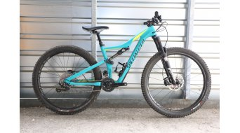Specialized Rhyme FSR Comp Carbon 650B / 27.5 MTB Komplettbike Damen-Rad Gr. S satin turquoise/hyper green/black Mod. 2016 - TESTBIKE