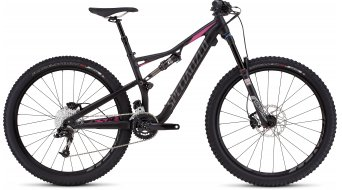 Specialized Rhyme FSR Comp 650B / 27.5 MTB Komplettbike Damen-Rad satin black/bright pink Mod. 2016