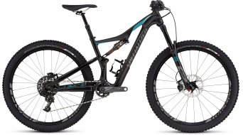Specialized Rhyme FSR Expert Carbon 650B / 27.5 MTB Komplettbike Damen-Rad gloss carbon/turquoise/charcoal Mod. 2016
