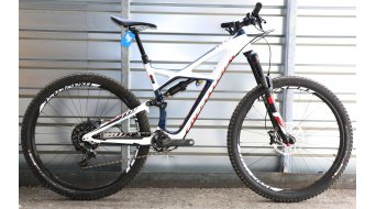 Specialized Enduro FSR Expert Carbon 29 MTB Komplettbike gloss navy/white/rocket red Mod. 2016 - TESTBIKE