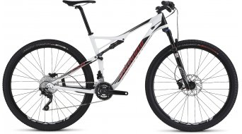 Specialized Epic FSR Comp Carbon 29 MTB Komplettbike gloss/white/black/red Mod. 2016 - TESTBIKE