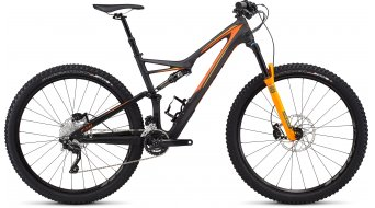 Specialized Stumpjumper FSR Comp Carbon 29 MTB Komplettbike satin black/gallardo orange/moto orange Mod. 2016