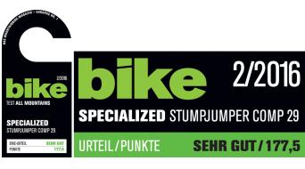 Specialized Stumpjumper FSR Comp 29 MTB Komplettbike Gr. S satin black/rocket red Mod. 2016