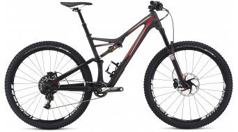 Specialized Stumpjumper FSR Expert Carbon 29 MTB Komplettbike satin carbon/red/white Mod. 2016 - TESTBIKE