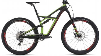 Specialized S-Works Enduro FSR Carbon 29 MTB Komplettbike Gr. L satin charcoal tint carbon /monster green/rocket red Mod. 2016